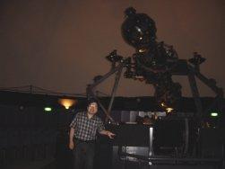 プラネタリウムと記念写真