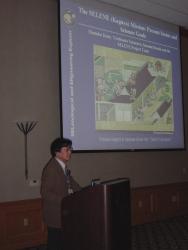 かぐやセッションで講演する加藤學教授