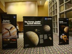 木星探査のパネル