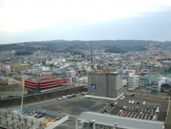 グランシップからみた日本平
