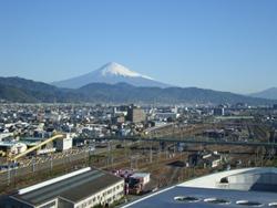 グランシップからみた富士山