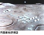 月面基地想像図