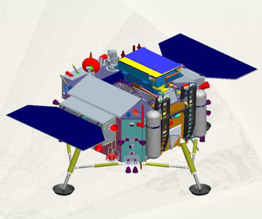 嫦娥4号のシステム図