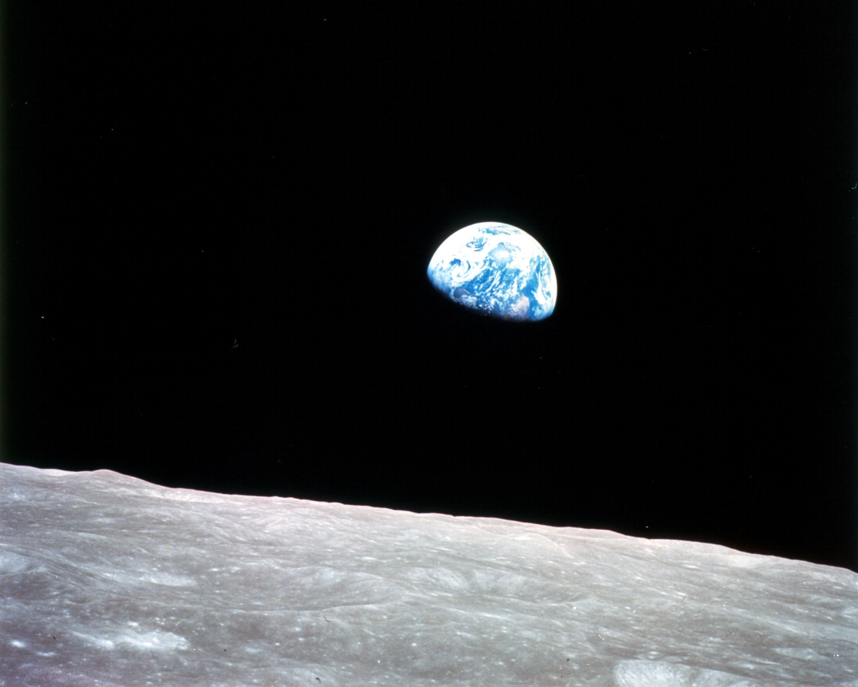 アポロ8号の「地球の出」