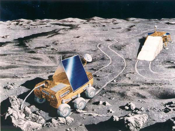 月面ローバ
