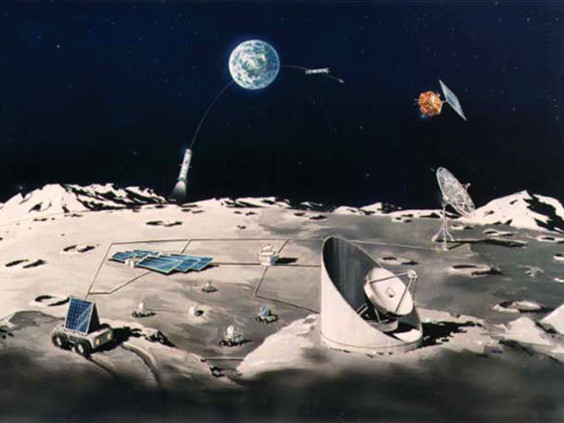 月基地・その一