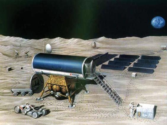 月基地・その二