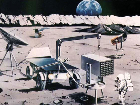 月面天文台・その一