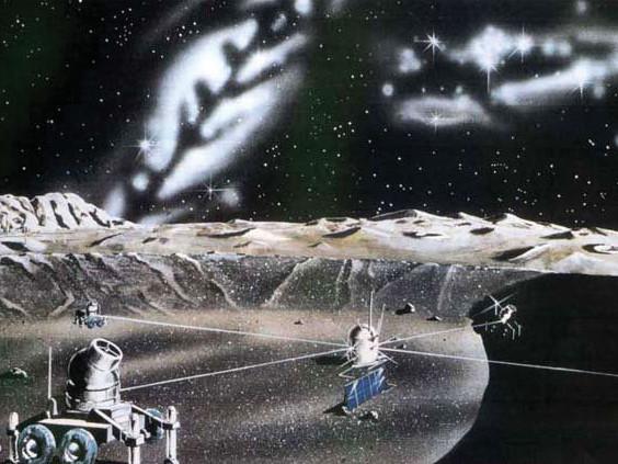 月面天文台・その二