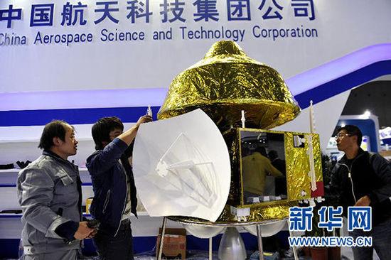 中国の火星探査機(模型)