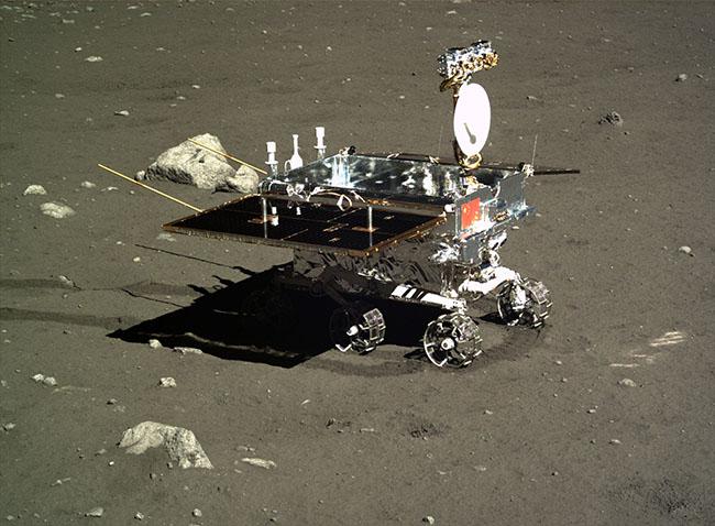 嫦娥3号のローバー「玉兎」
