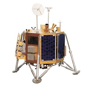 韓国の月着陸船の想像図