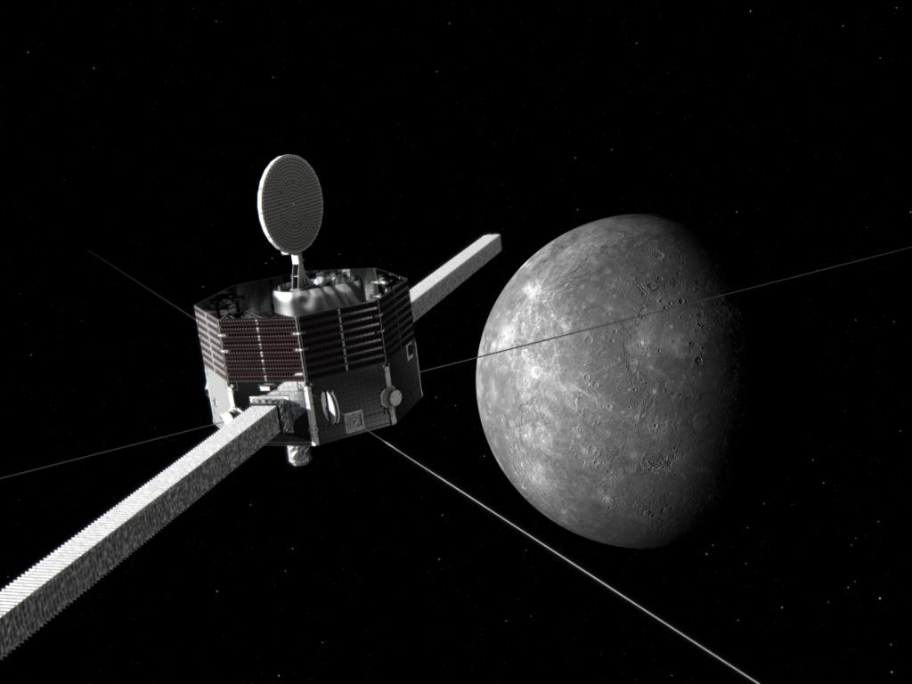 水星磁気圏探査機(MMO)と水星