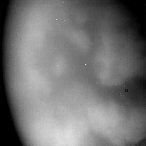 タイタン表面のクローズアップ写真