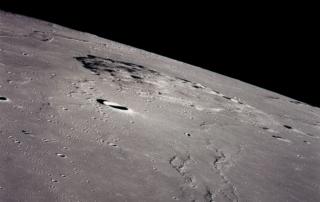 アポロ15号により撮影されたリュムケル山