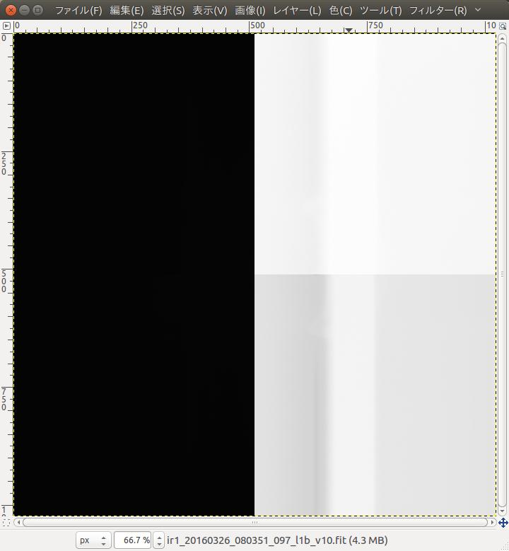 「あかつき」観測画像の一例