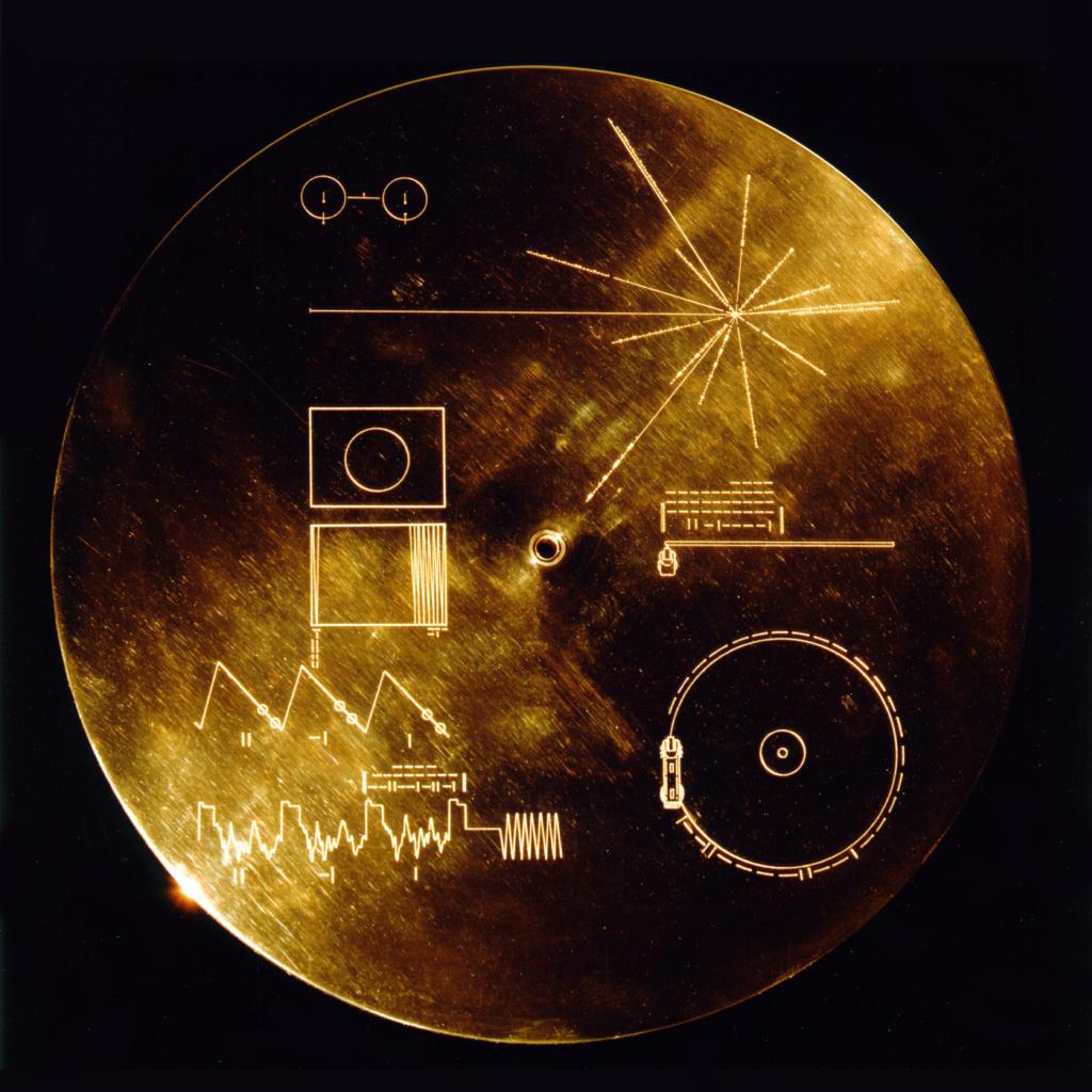ボイジャー探査機に搭載されたゴールデンレコード