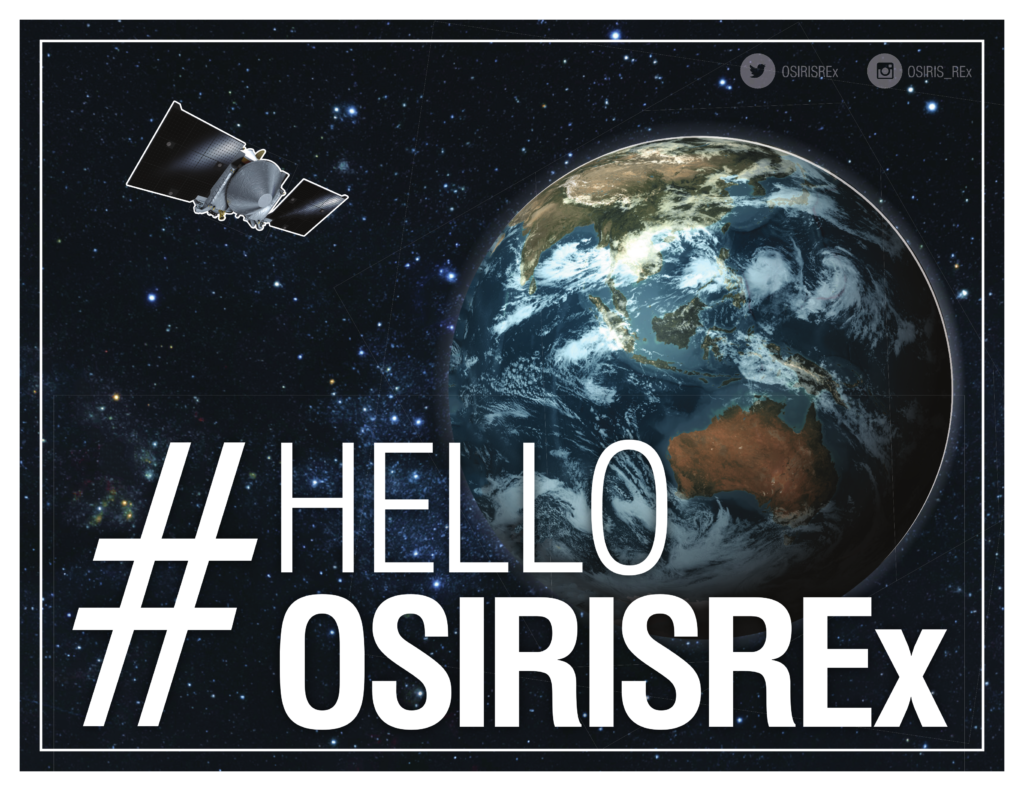 「オサイレス・レックスに手を振ろう」キャンペーン用画像1