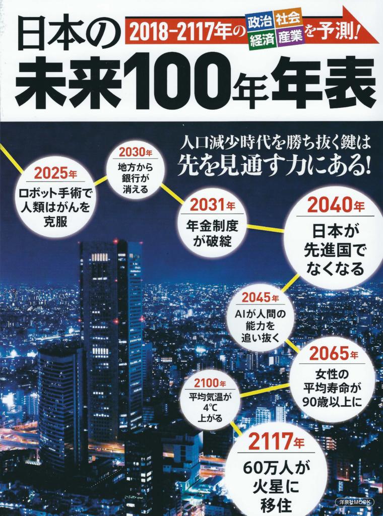 日本の未来100年年表