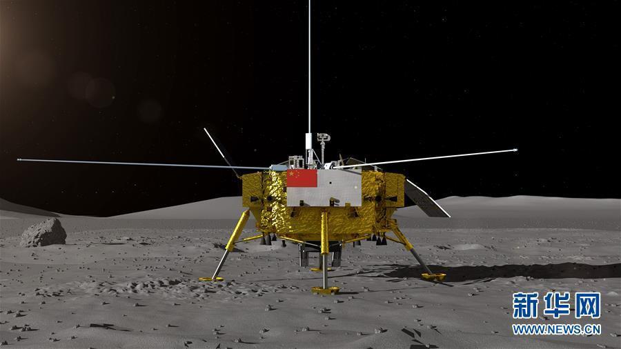 嫦娥4号のローバーデザイン