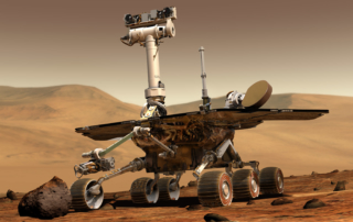 火星探査ローバー「オポチュニティ」