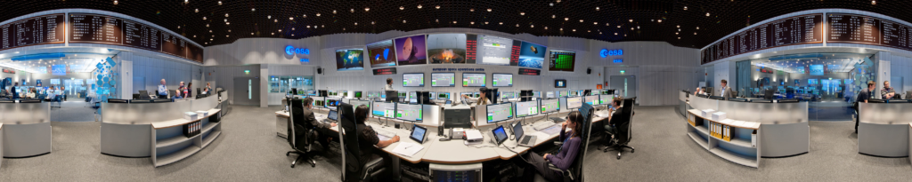 ESOCの中央管制室