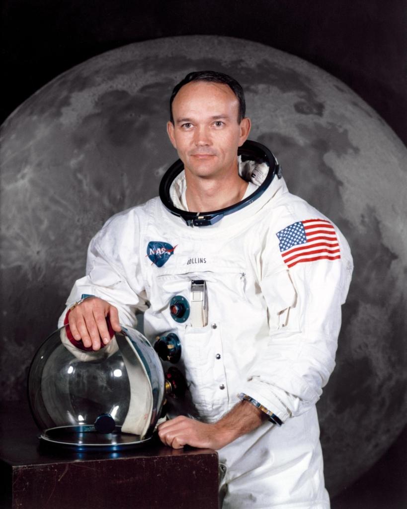 アポロ11号の任務に就くマイケル・コリンズ宇宙飛行士